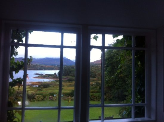 Rosleague Manor Hotel: view from window