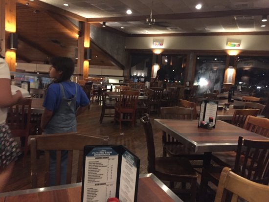 Cool setting are picture of flying fish public market for Flying fish bar and grill