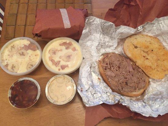 อีสตัน, เพนซิลเวเนีย: Great Pulled pork and banana pudding