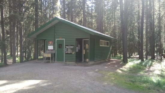 Johnston canyon campground updated 2017 reviews banff for Johnston canyon cabins