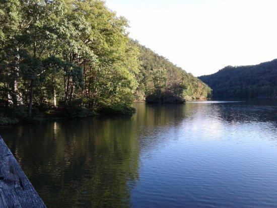 Marion, VA: the lake