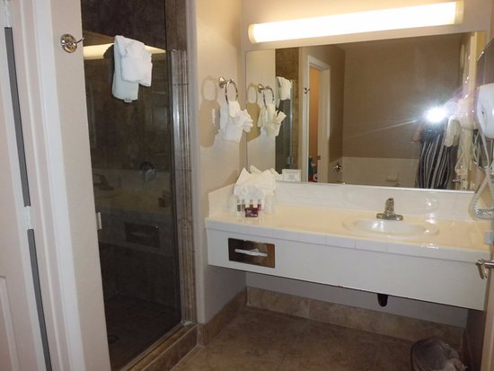 Tuscany Suites & Casino: also separate WC with door