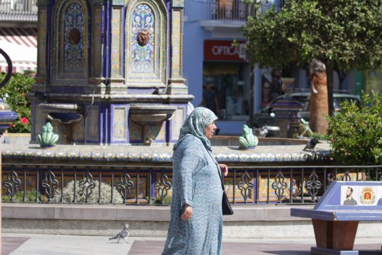 Plaza Alta: A city often showing its closeness to North Africa