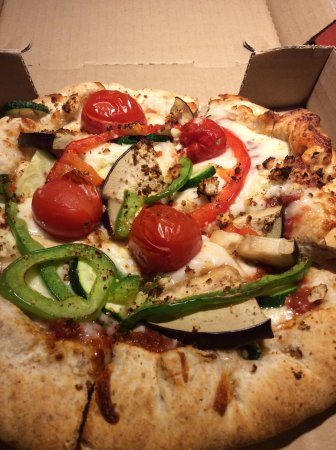 Isla Vista, Kalifornien: Farmers Market pizza