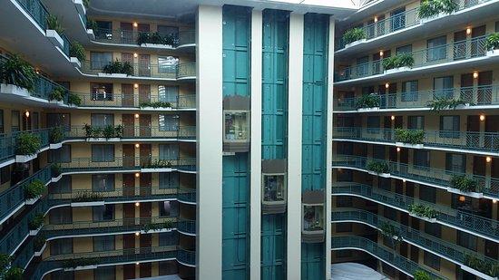 Miami Springs, ฟลอริด้า: Vista do corredor