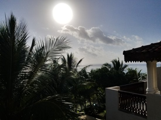 Swahili Beach Resort: View from the balcony of the room