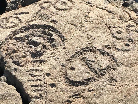 Waikoloa, Hawaï: Petroglyphs 2
