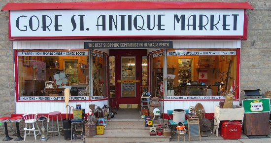 Lanark County's #1 antique Market open 7 days a week 147 Gore St. E. Perth ON