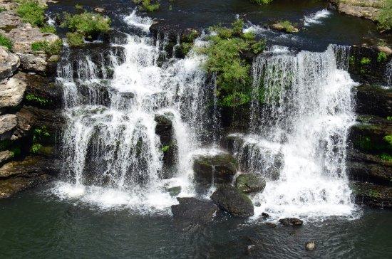 Rock Island, TN: One area of the falls
