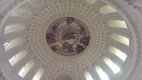 Stuehlingen, Jerman: Plafond Dom St Blasien