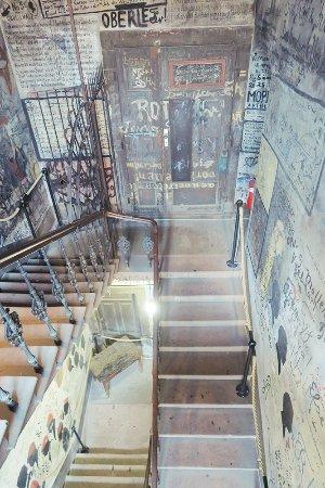 Student Jail (Studentenkarzer) : 一進入口的樓梯