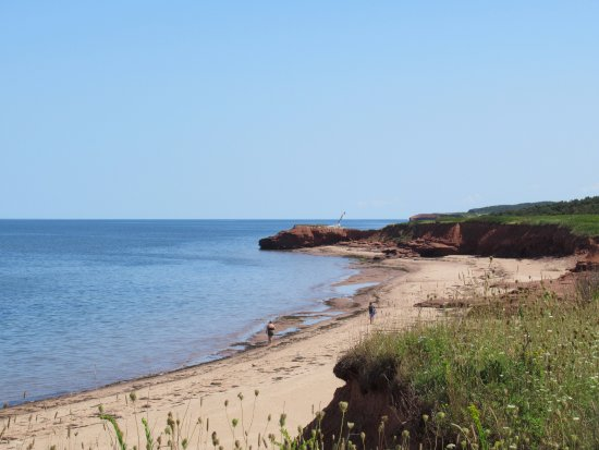 North Rustico, Canada : Shore path.