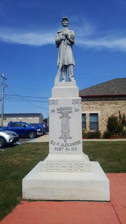 Civil War Monument, Williamston, MI