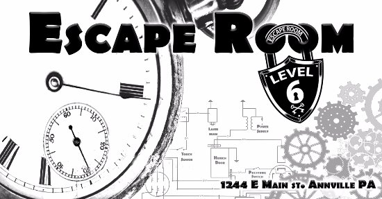 Annville, PA: Escape Room Level 6 Banner