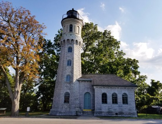 Youngstown, NY: Lighthouse near Ft. Niagara