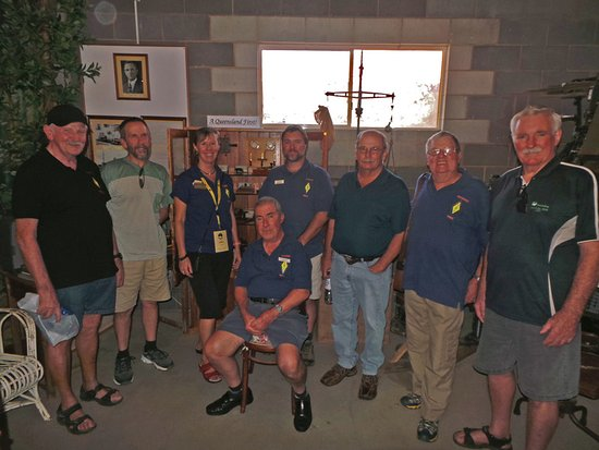 Mareeba, Australia: Our ALARA and TREC ham radio group thoroughly enjoyed the XQA exhibit.