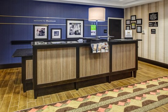Thomson, Georgien: Front Desk