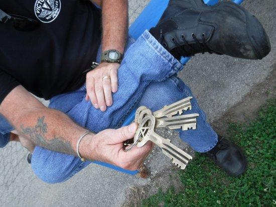 Jefferson City, MO: Folger Adam Prison Keys