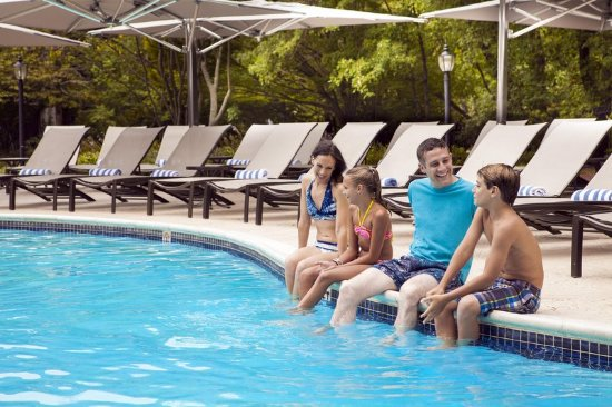 Short Hills, NJ: Pool with Family