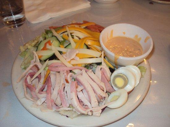 El Rancho Hotel & Motel: my salad