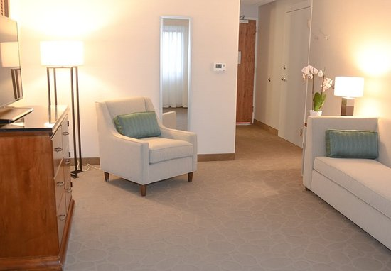 Racine, WI: Junior Suite - Living Room