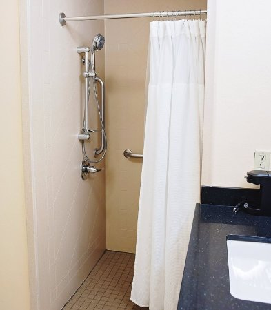 Ankeny, IA: King Guest Room - Roll-in Shower