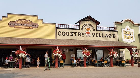 Vernon, Kanada: Davison Orchards Country Village