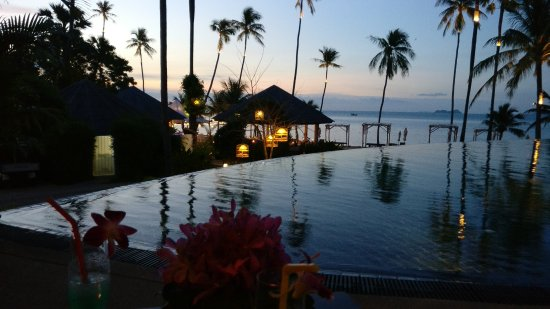 Belmond Napasai : The infinity pool