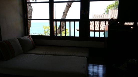 Belmond Napasai : View from the bed room