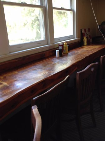 Daufuskie Island, SC: Counter Seating