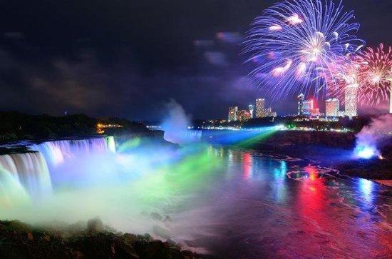 Evening Coach Tour of Niagara Falls