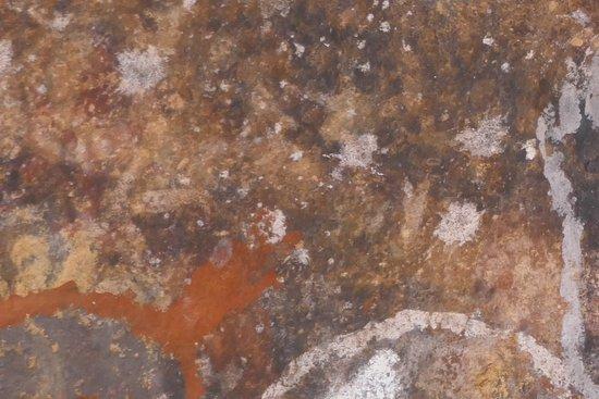 Yulara, Austrália: Rock art at Uluru
