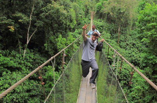 Arenal Hanging Bridges- Eco Farm and...