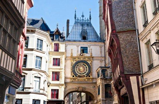 Visite de Rouen en petit groupe d'une...