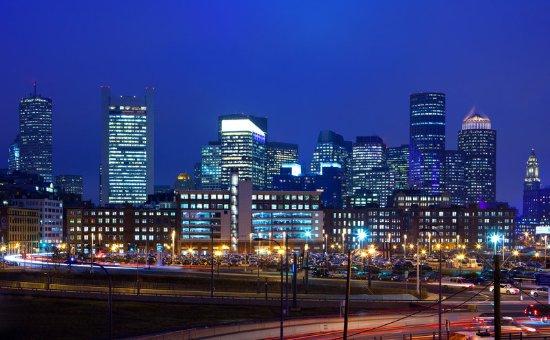 The Westin Boston Waterfront: Boston at Dusk