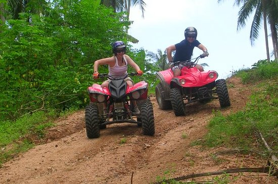 Koh Samui ATV tur fra Nathon Port