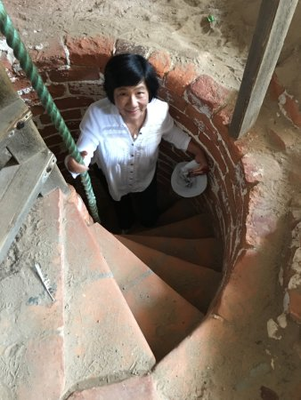 Sand Church (Den Tilsandede Kirke): Climbing up the Steeple