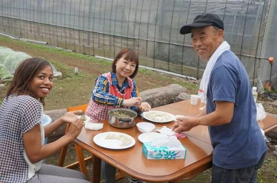 Japanese Tasting Tour and Fresh-Picked Farming