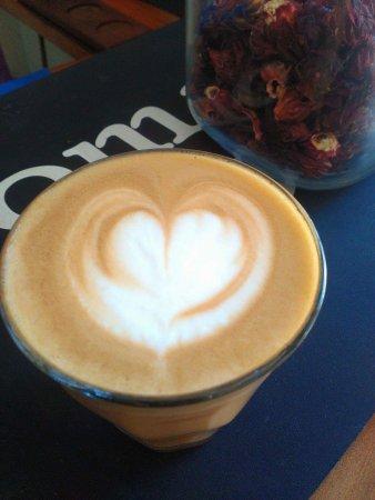 Padangbai, Indonesia: Coffee with Love.
