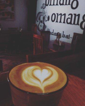 Padangbai, Indonesia: Omang Coffee Time.