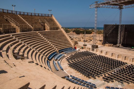 Caesarea, Israel: Great place for a concert