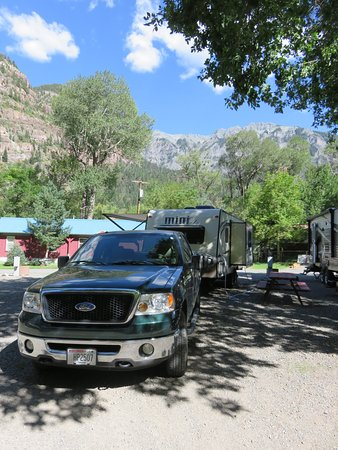 4J+1+1 RV Park: Site #12 in shade