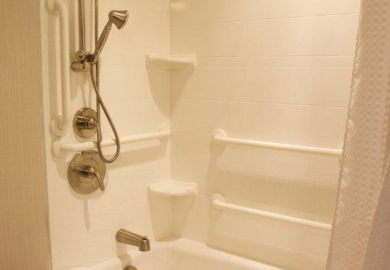 Arden, Carolina del Norte: Accessible Guest Bathroom