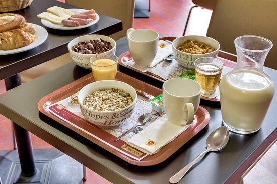 Bobigny, Francia: Breakfast