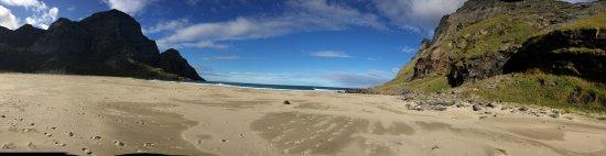 Reine, النرويج: wonderful day at Bunes Beach