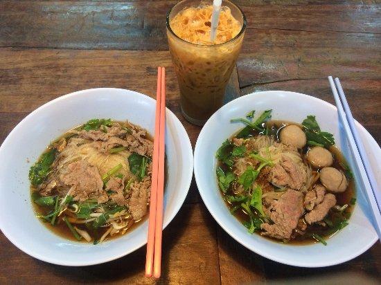 Image result for Blue Shop noodle restaurant chiang mai