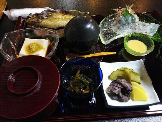 Sushi Kappo Aoki: 定食の写真