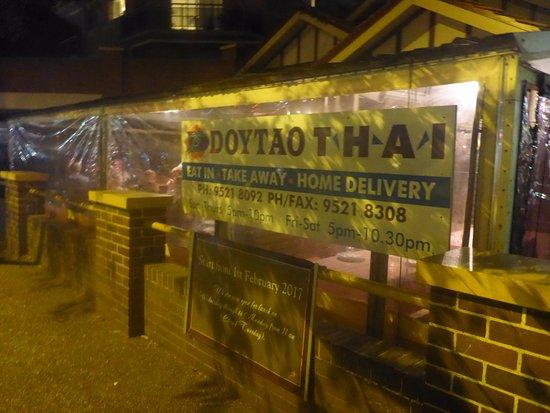 Sutherland Shire, Australia: Doytao Thai Restaurant Sutherland