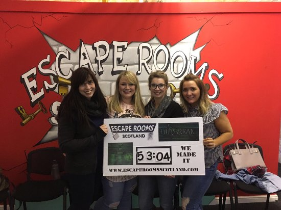 Escape Room Experience Edinburgh Reviews