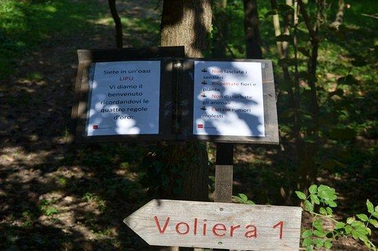 Tigliole, Ιταλία: Cartello natura